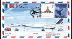 CO-RET47T2 : 2009 - Pli '40 ans 1er vol Concorde 001' - Grande-Bretagne