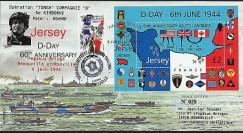 DEB 04-JER : 2004 - FDC Jersey D-Day - Opération Tonga