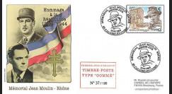 MOUL09-1 : 2009 - FDC 1er Jour TP 'Memorial Jean Moulin' gommé