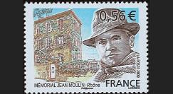 MOUL09-1N : 2009 - TP 'Mémorial Jean Moulin' gommé