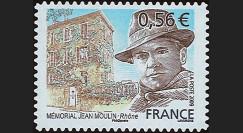MOUL09-2N : 2009 - TP 'Mémorial Jean Moulin' Adhésif