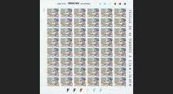 MOUL09-2F : 2009 - Feuille 48 TP 'Mémorial Jean Moulin' adhésifs