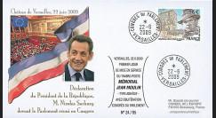 MOUL09-4 : 2009 - FDC 'Sarkozy réuni le Parlement en Congrès'