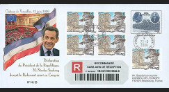 MOUL09-4R : 2009 - RECO 'Sarkozy réuni le Parlement en Congrès'