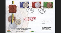 PE445-8 : 2002 - FDC 1er Jour TP 'Introduction de l'Euro' - Irlande