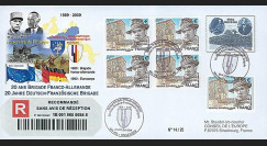 BFA09-1R : 2009 - RECO '20 ans Brigade Franco-allde - de Gaulle & Adenauer'