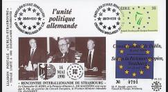 PE212 : 1990 - FDC Irlande 'Rencontre interallemande de Strasbourg'