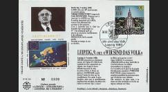 PE218 : 1990 - FDC Est-allde 'Gorbatchev - Leipzig 1989