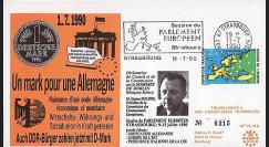 PE215 : 1990 - Session PE 'Union Economique & Monétaire entre les 2 Allemagne'