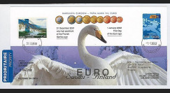PE445-6 : 2002 - FDC 1er Jour TP 'Introduction de l'Euro' - Finlande