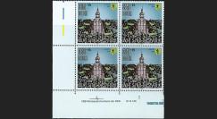 PE218-B4 : 1990 - Bloc de 4 TP Allemagne 'Wir sind das Volk'