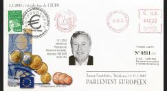 """PE446 : 2002 - FDC PE """"Election du Président du Parlement Européen"""