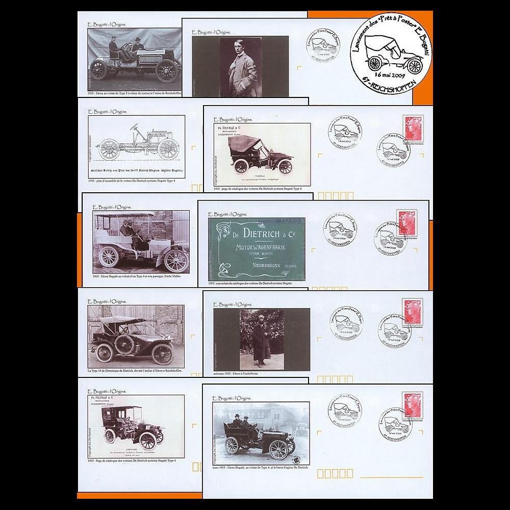 BUGATTI 09-1-10 : 2009 - 10 PAP '100 ans Bugatti - l'Origine'