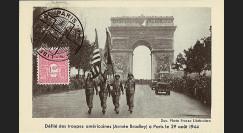W2-FR625-F1 : 1944 - CM 'Libération de Paris' TP YT 625