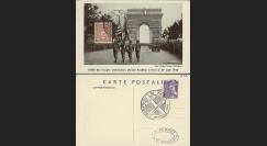 W2-FR622-E1 : 1944 - CM 'Libération de Paris' TP YT 622