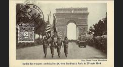 W2-FR628-D1 : 1944 - CM 'Libération de Paris' TP YT 628