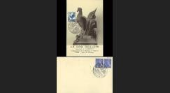 W2-FR632-D1 : 1944 - CM 'Coq Gaulois' TP YT 632