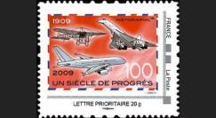 A380-85N1 : 2009 - TPP 'Un Siècle de Progrès' - Prio 20g IDTimbre