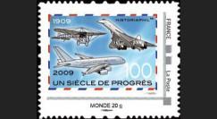 A380-85N2 : 2009 - TPP 'Un Siècle de Progrès' - Monde 20g IDTimbre