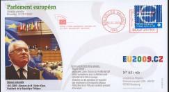 BR101 : 2009 - FDC Bruxelles 'Discours du Pdt tchèque