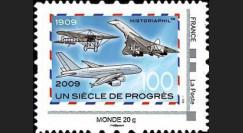 A380-85N2M : 2009 - TPP 'Un Siècle de Progrès' - Monde 20g Montimbramoi