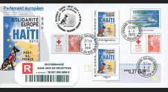 PE586-PJa : 2010 - PAP recommandé Session PE '1er Jour TPP Solidarité HAITI'