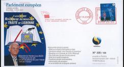 """BR103 : 2009 - FDC Bruxelles """"Référendum irlandais - OUI au traité de Lisbonne"""""""