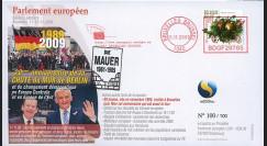 """BR104 : 2009 - FDC Bruxelles """"20 ans Chute du Mur de Berlin"""""""