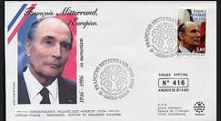 PE332-1 : 1997 - 1er Jour TP hommage à Mitterrand - Château-Chinon