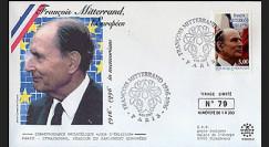 PE332-2 : 1997 - 1er Jour TP hommage à Mitterrand - Paris