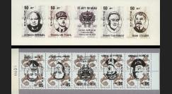 VICT95-RU1CR Carnet ex-URSS 'Victoire 1945' Churchill