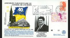 CE41-III type1 : 1989 - Session du CE Visite officielle du 1er Ministre de Turquie