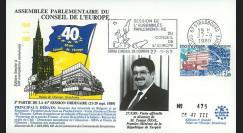 CE41-III type2 : 1989 - Session du CE Visite officielle du 1er Ministre de Turquie