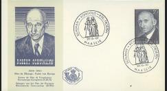BEL10 : 1967 - FDC Belgique 1er Jour TP Robert Schuman