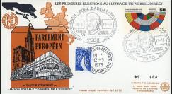 EPE2LA : 1979 - FDC Allemagne cachet spéciale 'Robert Schuman - BÜFILA'79'