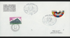 EPE2LA : 1979 - Env. de service PE avec cachet spéciale 'Robert Schuman - BÜFILA'79'
