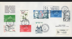 PE115a : 1986 - FDC RECO Parlement eur. 'Centenaire de la naissance de Schuman'