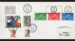 PE116a : 1986 - Env. de service PE RECO 'Centenaire de la naissance de Schuman'