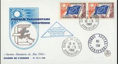 AP13 : 1960 - FDC Parlement eur. 'Commémoration 20e anniversaire Plan Schuman'
