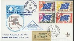 AP13a : 1960 - FDC RECO Parlement eur. 'Commémoration 20e anniversaire Plan Schuman'