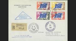 AP13b : 1960 - Env. de service RECO Parlement eur. 'Commémoration 20 ans Plan Schuman'