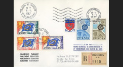 AP63c : 1967 - Env. de service RECO session PE 'Traités de Rome