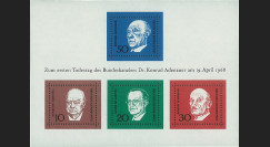 ALL68BF : 1968 - Bloc Allemagne 'Chancelier Adenauer