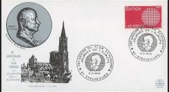 RD52 : 1970 - FDC 'Journée de l'Europe - 20e anniversaire Plan Schuman'