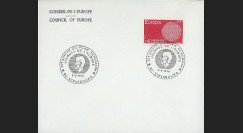 RD52b : 1970 - Env. de service CE 'Journée de l'Europe - 20e anniversaire Plan Schuman'