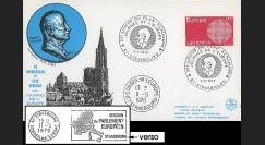 RD52L : 1970 - FDC 'Journée de l'Europe - 20 ans Plan Schuman' + liaison PE