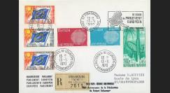 AP84a : 1970 - Env. de service Parlement eur. 'séance solennelle 20 ans du Plan Schuman'
