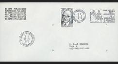 FE29Eb : (AP124b) 1975 - Env. de service PE 1er Jour TP 'Schuman