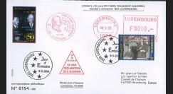 PE408 : 2000 - FDC 1er Jour Luxembourg TP '50e anniversaire Déclaration Schuman'