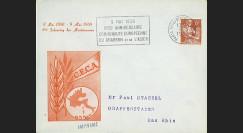 CECA3 : 1958 - FDC France '8e anniversaire de la CECA'